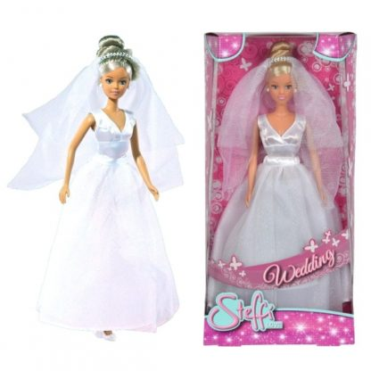Штеффи в свадебном наряде