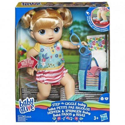 Hasbro Baby Alive Малышка умеет ходить
