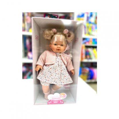 Кукла Llorens Плачущая Роберта 33 см