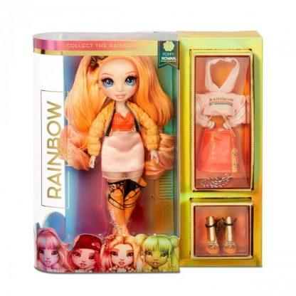 Кукла Rainbow High - Поппи (с аксессуарами)