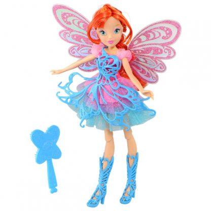 Кукла Winx Butterflix Fairy Баттерфликс Блум 27 см
