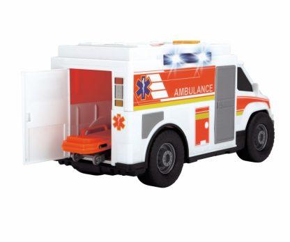 Функциональная Скорая помощь Dickie Toys с носилками со светом и звуками 30 см