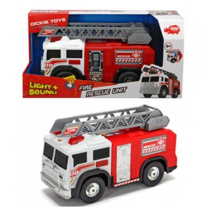 Функциональная Пожарная машина Dickie Toys со световыми и звуковыми эффектами 30 см