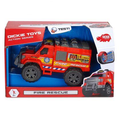 Функциональная Пожарная служба Dickie Toys со звуком и светом 20 см