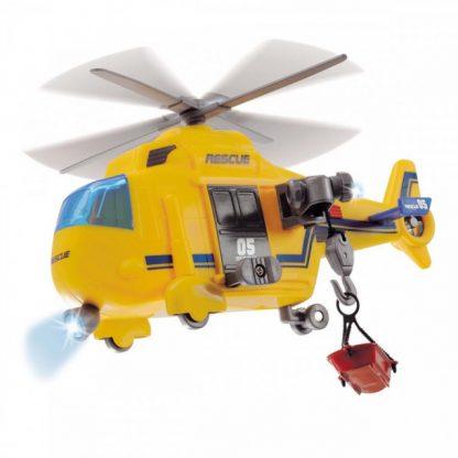 Функциональный вертолет Dickie Toys Спасательная служба 18 см