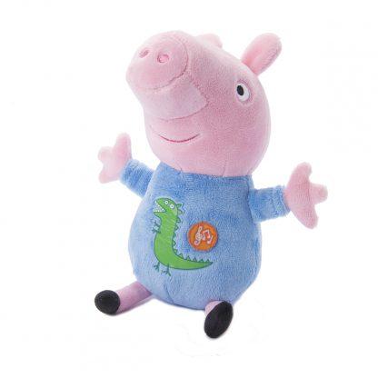 Мягкая Игрушка Свинка Пеппа - Джордж С Вышитым Драконом