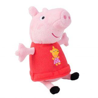 Мягкая Озвученная Игрушка Свинка Пеппа - Пеппа С Вышитой Игрушкой