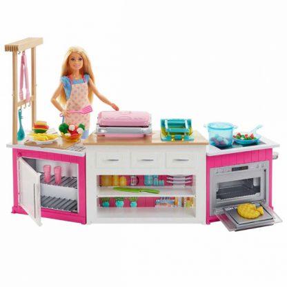 Кукольный набор Barbie I can be Барби Готовим вместе