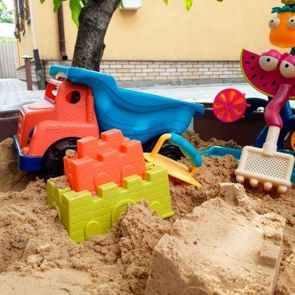 Большой Чудосамосвал - Набор Для Игры С Песком и Снегом