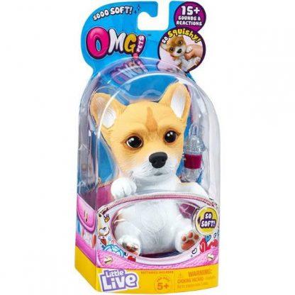 Интерактивная игрушка Little live pets Soft hearts Щенок Корги