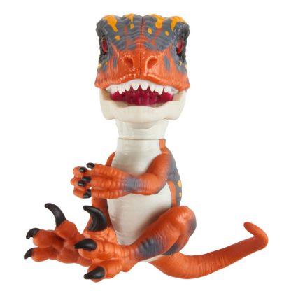 Интерактивная игрушка WowWee Fingerlings Динозавр Blaze оранжевый