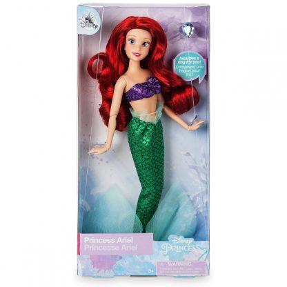 Кукла классическая Disney Princess Принцесса Русалочка Ариэль с кольцом