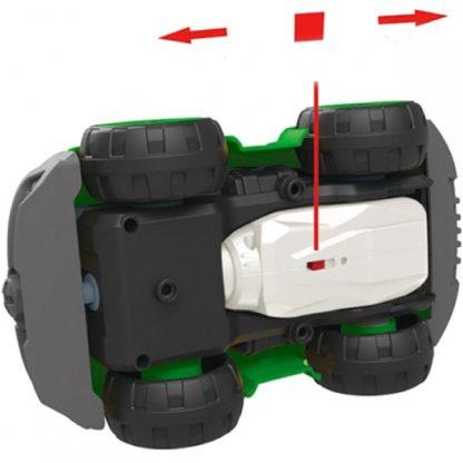 Конструктор DIY Spatial Creativity Мусоровоз с электродвигателем и пультом управления 27 деталей