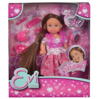Кукла Steffi & Evi Love Эви Рапунцель с длинными волосами
