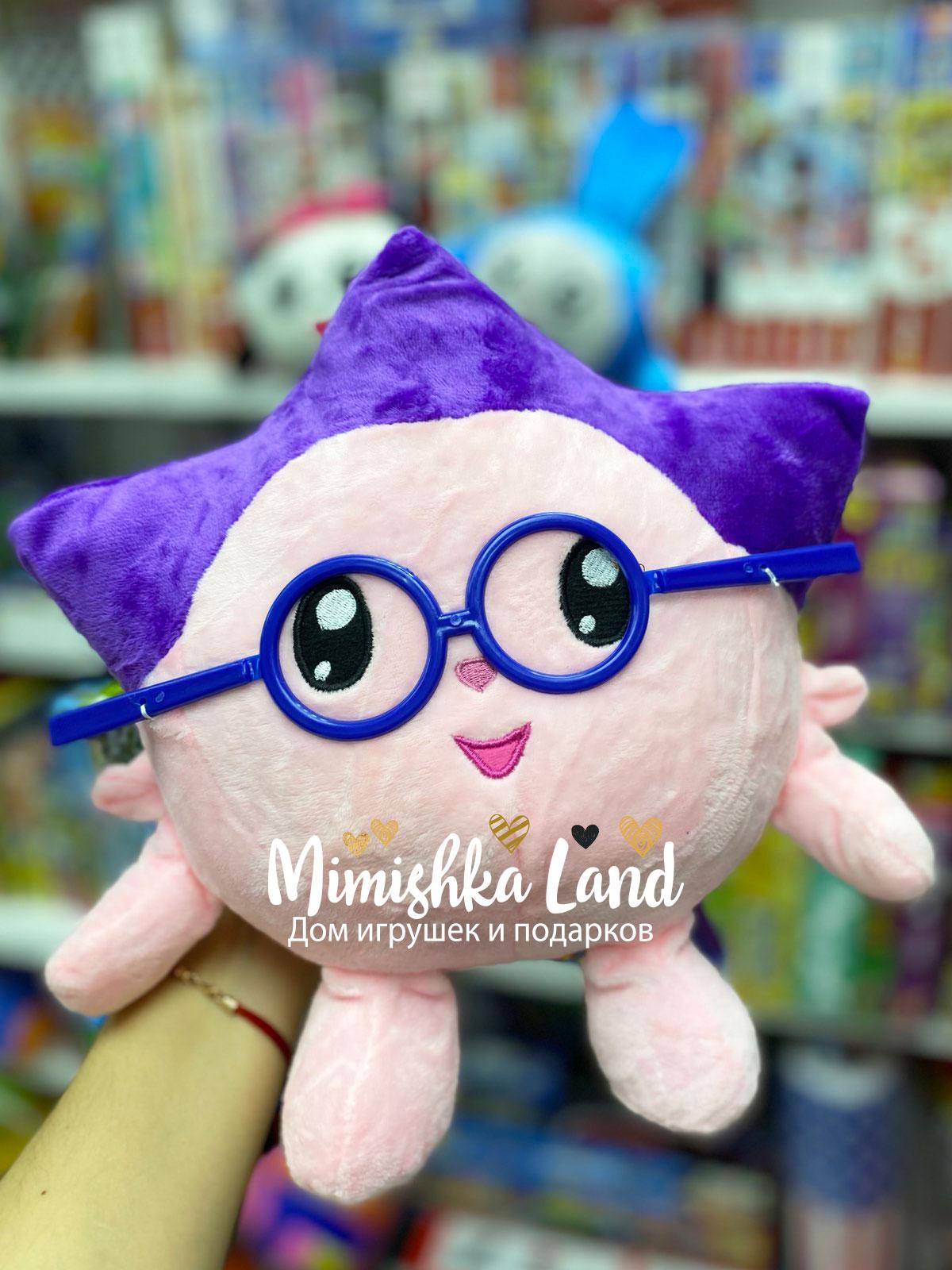 Витрина магазина: Мягкая игрушка Малышарики Ежик (аналог) 37 см