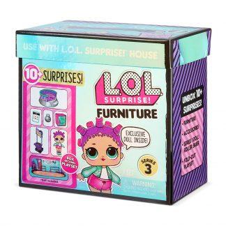 Игровой набор с куклой L.O.L. Surprise! серии Furniture S3 - Роллердром Роллер-Леди