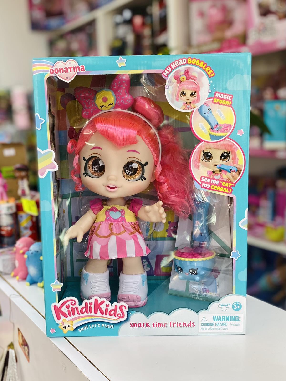 Кукла Kindi Kids Донатина Кинди Кидс Donatina Snack Time Friends с аксессуарами