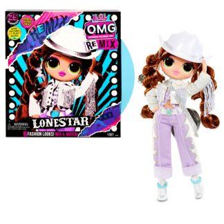 Игровой набор с куклой L.O.L. Surprise! серии O.M.G. Remix - Леди-Кантри