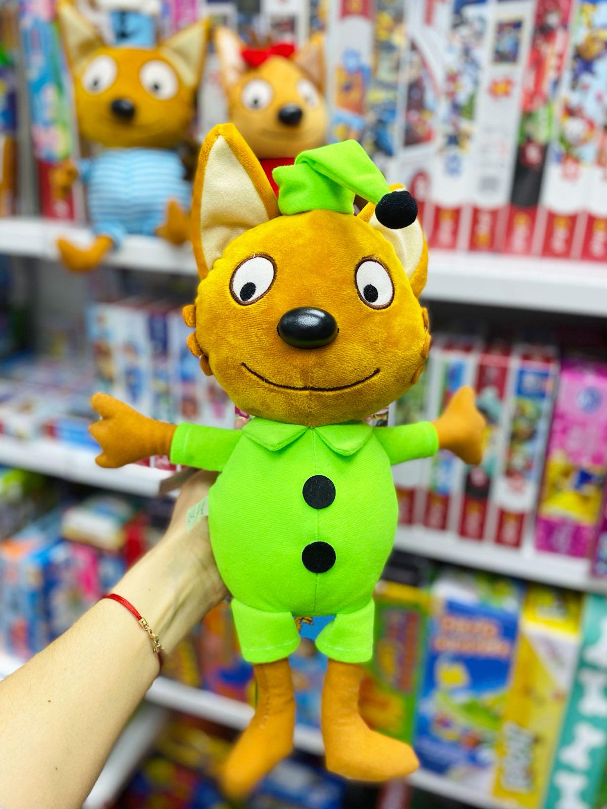 Витрина магазина: Мягкая игрушка Компот Три кота