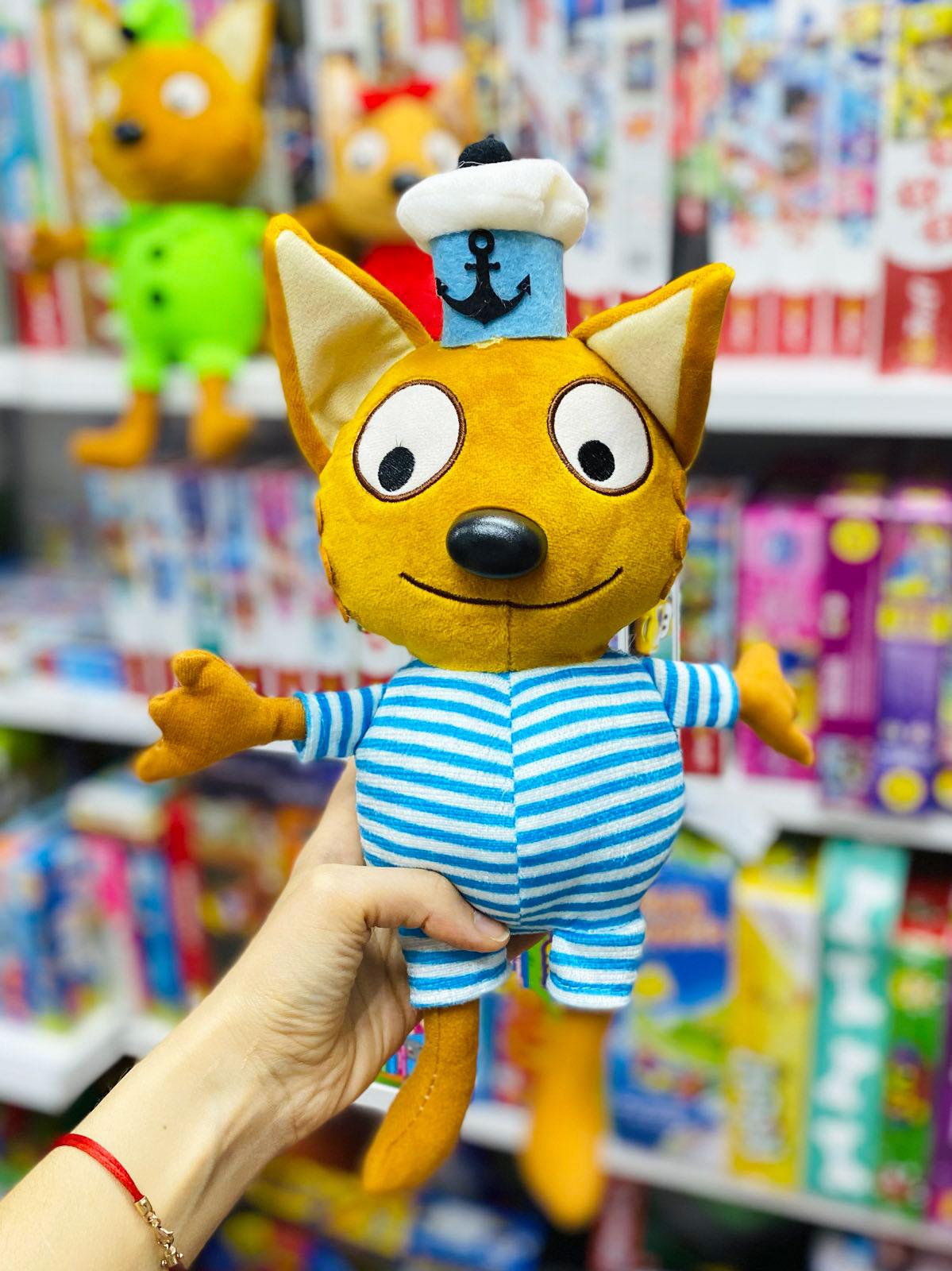 Витрина магазина: Мягкая игрушка Коржик Три кота