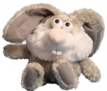 Мягкая игрушка Chericole Кролик, который качается (переворачивается) и смеется