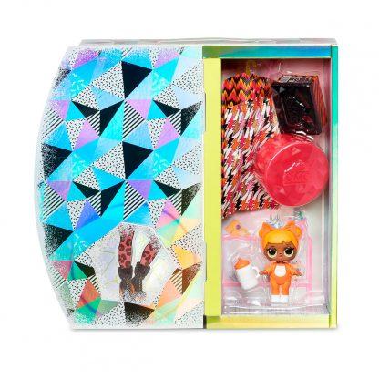Игровой набор с куклой L.O.L. Surprise! серии O.M.G. Winter Chill – Леди-Китти