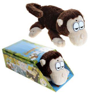 Мягкая игрушка Chericole Обезьянка, которая качается (переворачивается) и смеется
