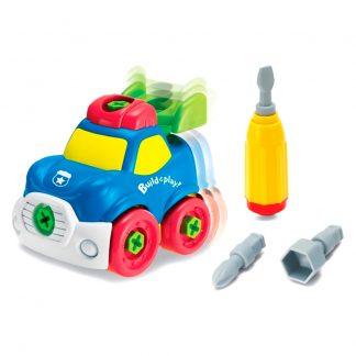 Конструктор Keenway Build and play Строй и Играй Полицейская машина