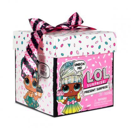 Игровой набор с куклой L.O.L. Surprise! серии Present Surprise - Подарок