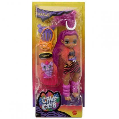 Cave Club Roaralai Doll with Ferrell Dinosaur Pet Кукла Роарелей и питомец Феррелл Пещерный клуб