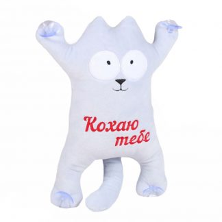 Мягкая игрушка Кот Саймона Simon's Cat (аналог) 34 см