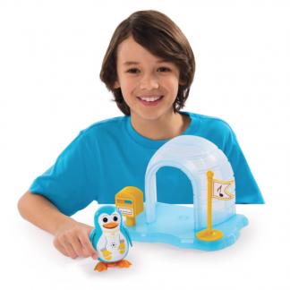Игровой набор с интерактивным пингвином DigiPenguins Igloo Playset - ИГЛУ ПЭЙТОНА (с иглу и свистком)