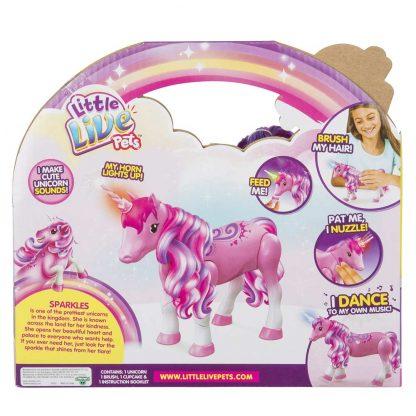 Интерактивная игрушка Little Live Pets Танцующий единорог Искорка Sparkles