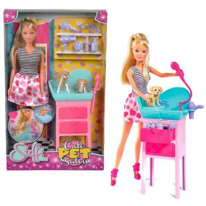 Игровой набор Steffi & Evi love Штеффи Салон Красоты. Стильные питомцы.