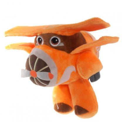 Мягкая игрушка Супер Крылья Super Wings Самолет Альберт (аналог) 23 см