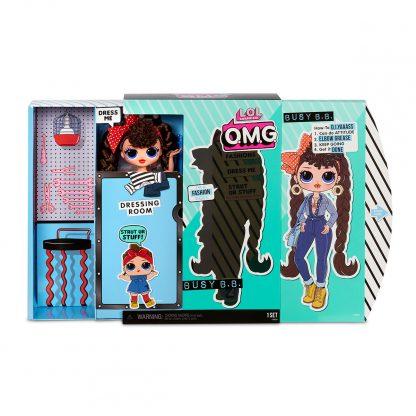 Игровой набор с куклой L.O.L. SURPRISE! серии O.M.G. S2 - ТЕХНО-ЛЕДИ