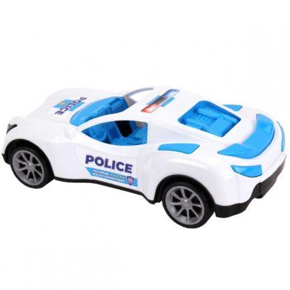 Спортивная полицейская машина ТехноК в сетке 38 см