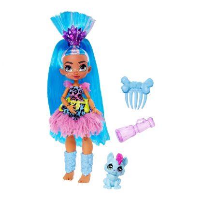 Cave Club Tella Doll with Hunch Pet Кукла Телла и питомец Ханч Пещерный клуб
