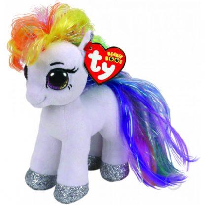 Мягкая игрушка TY Пони Белая Starr (маленькая) 17 см