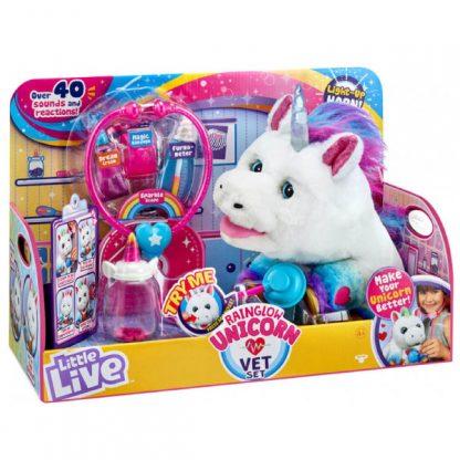 Игровой набор с единорогом Little live pets Полечи меня Moose