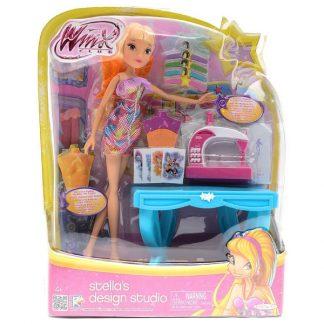 Кукла Winx - Дизайн-студия Стелла 27 см