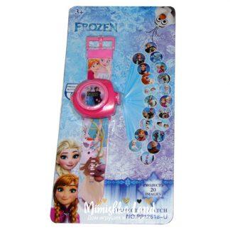 Детские наручные часы с проектором Холодное сердце Frozen 20 картинок