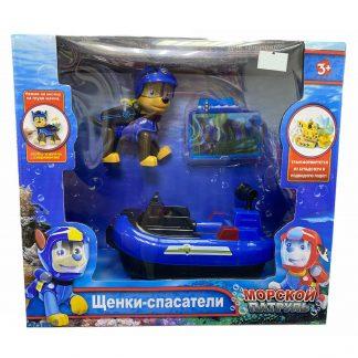 Игровой набор Paw Patrol Щенячий патруль Гонщик Chase с транспортом (аналог)