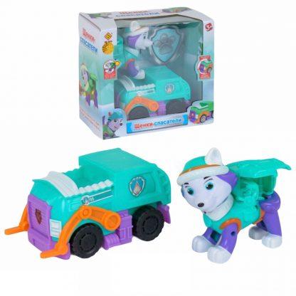 Игровой набор Paw Patrol Щенячий патруль Эверест с машинкой