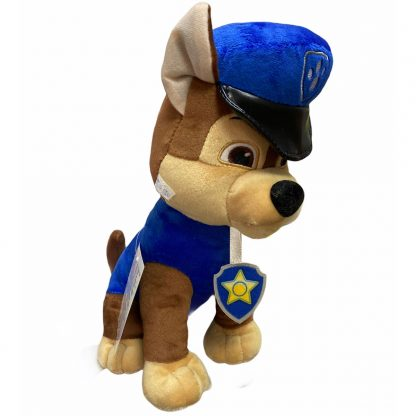 Мягкая игрушка Гонщик Chase Щенячий патруль (аналог) 30 см