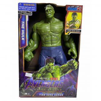 Фигурка Супергероя Халк Hulk (аналог) 30 см со звуком и светом