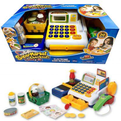 Игровой набор детский Кассовый аппарат Keenway 20 элементов