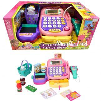 Игровой набор детский Кассовый аппарат Keenway со звуковыми и световыми эффектами 20 элементов