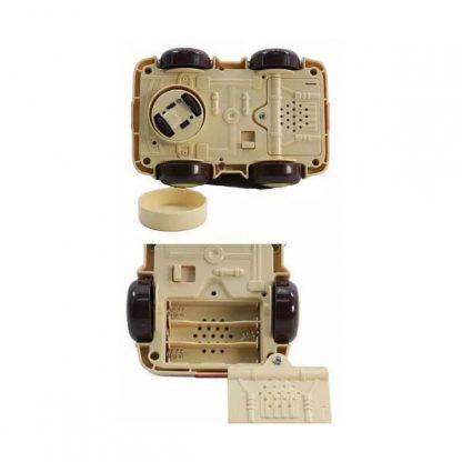 Машинка инерционная Nukied с вращением на 360 градусов со звуком и светом - ТАКСИ ФИТЧ (аналог Battat)