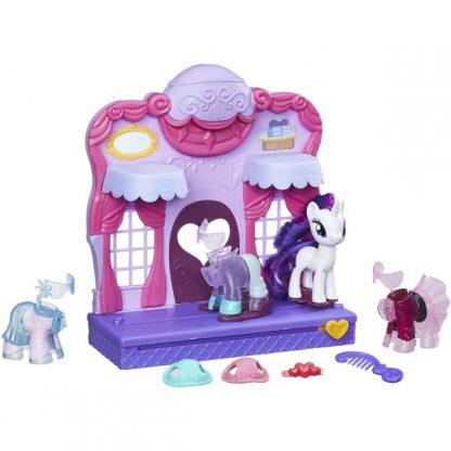 My Little Pony Игровой набор Бутик Рарити в Кантерлоте Friendship is Magic Rarity Fashion Runway Playset